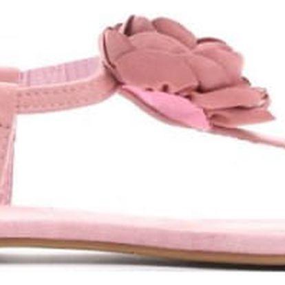 Dámské růžové sandály Rosali 7268