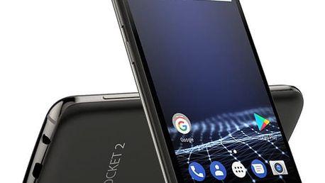 Mobilní telefon myPhone POCKET 2 Dual SIM černý + dárek (TELMYAPOCKET2BK)