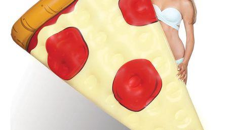 Nafukovací matrace ve tvaru plátku pizzy Big Mouth Inc.