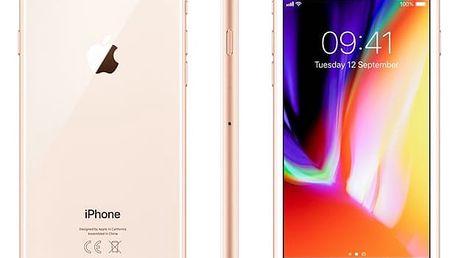 Mobilní telefon Apple iPhone 8 64 GB - Gold (MQ6J2CN/A) Software F-Secure SAFE, 3 zařízení / 6 měsíců v hodnotě 979 Kč