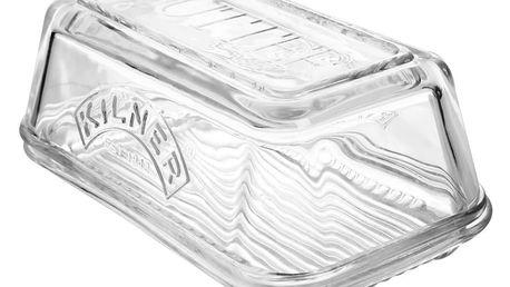 KILNER Skleněná máslenka, čirá barva, sklo