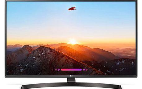 Televize LG 43UK6470PLC černá