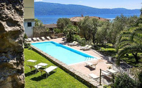Itálie - Lago di Garda na 8 dní, polopenze s dopravou vlastní 50 m od pláže