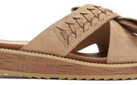 Dámské béžové pantofle Piper 9153