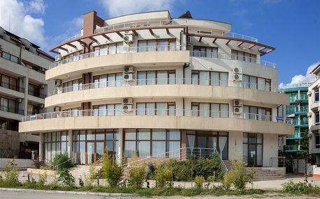 Bulharsko - Primorsko na 8 dní, snídaně s dopravou letecky z Prahy 30 m od pláže