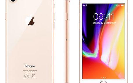 Mobilní telefon Apple iPhone 8 64 GB - Gold (MQ6J2CN/A) Software F-Secure SAFE, 3 zařízení / 6 měsíců v hodnotě 979 Kč + DOPRAVA ZDARMA