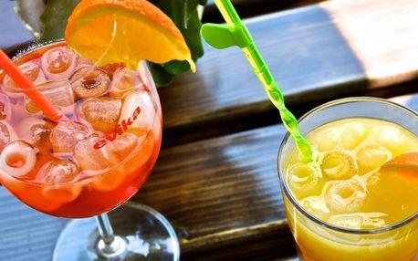 2 osvěžující letní drinky, na výběr ze 3 druhů