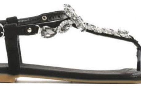 Dámské černé sandály Chantelle 7265