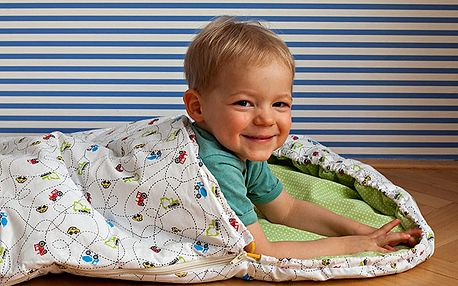 Dětský spací pytel Bartex Design Autíčka, 70x165cm