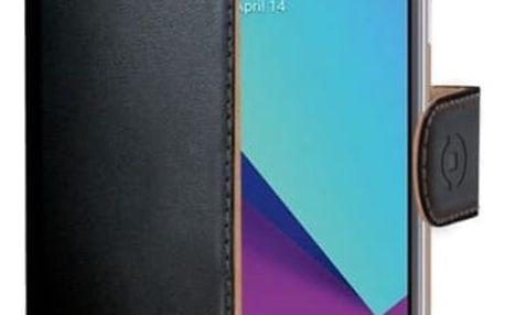 Pouzdro na mobil flipové Celly Wally pro Samsung Galaxy J3 (2017) černé (WALLY663)
