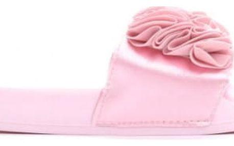 Dámské růžové pantofle Fiona 10731A