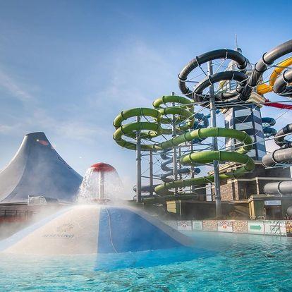 Podzimní ubytování v aquaparku Gino Paradise Bešeňová