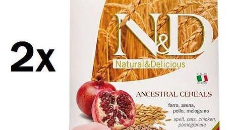 N&D Low Grain DOG Adult Chicken & Pomegranate 2 x 12 kg