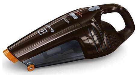 Akumulátorový vysavač Electrolux Rapido ZB6108C hnědý