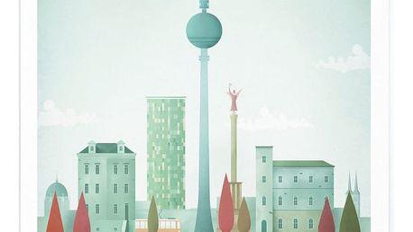 Plakát Travelposter Berlin, A3