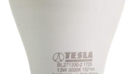 Žárovka LED Tesla klasik, 13W, E27, teplá bílá (BL271330-2)