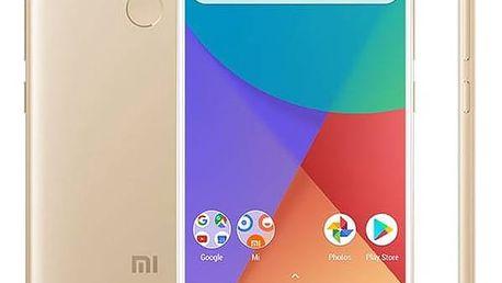 Xiaomi Mi A1 32 GB Dual SIM CZ LTE (17099) zlatý