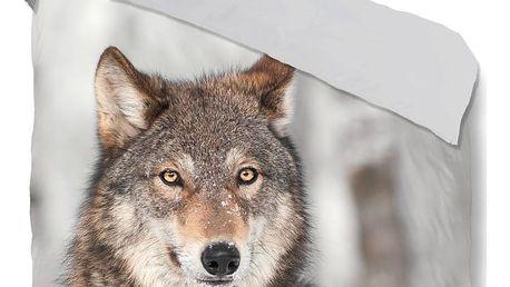Povlečení Good Morning Wolf, 200 x 200 cm