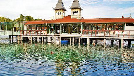 First minute: maďarské termální jezero Hévíz a Balaton pohodlně v apartmánu se slevou na privátní wellness