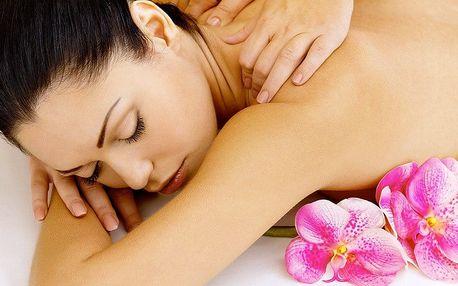 Totální uvolnění: hodinová masáž zad a šíje