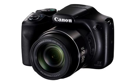 Digitální fotoaparát Canon PowerShot SX540 HS černý