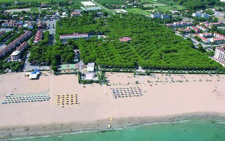 Itálie - Veneto (Benátská riviéra) na 8 dní, bez stravy s dopravou vlastní 10 m od pláže