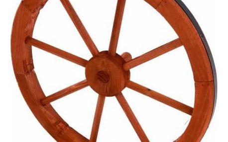 Garthen 237 Dřevěné kolo 45 cm - stylová rustikální dekorace