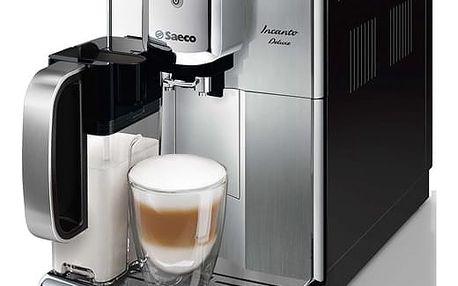 Espresso Saeco Incanto HD8921/09 černé/nerez + dárek Káva zrnková Simon Lévelt BIO Uganda 250 g v hodnotě 159 Kč + DOPRAVA ZDARMA