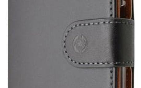 Pouzdro na mobil flipové Celly Wally pro Huawei P9 černé (WALLY576)