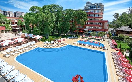 Bulharsko - Slunečné Pobřeží na 8 dní, all inclusive s dopravou letecky z Brna nebo Prahy 100 m od pláže