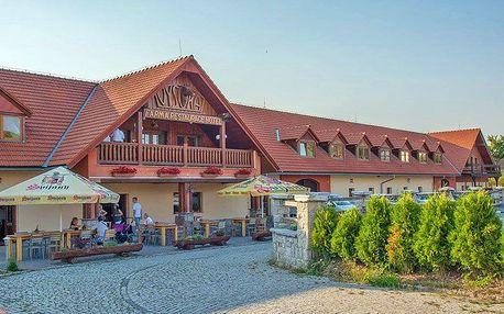 Krásné Jizerské hory na romantické farmě nedaleko Liberce a termálních lázní s vínem a polopenzí