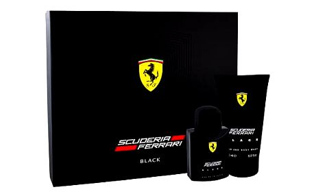 Ferrari Scuderia Ferrari Black EDT dárková sada M - EDT 75 ml + sprchový gel 150 ml