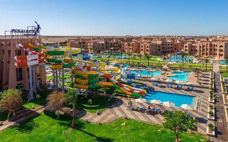Egypt - Hurghada na 8 dní, all inclusive s dopravou letecky z Prahy 500 m od pláže