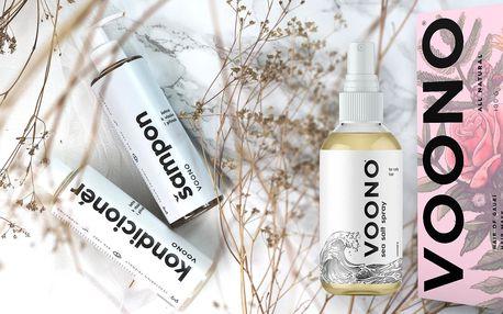Přírodní šampon, kondicionér, maska nebo sprej