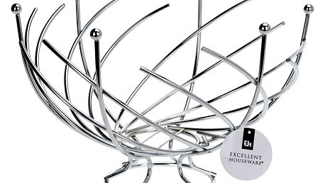 Košík na ovoce-chromovaná ocel EH Excellent Houseware