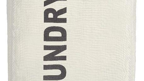 Béžový koš na prádlo Wenko Quadro, 79,2 l