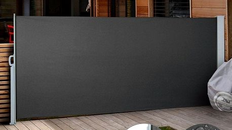 Venkovní zástěna výška 1,6m délka 3m HT160-3 šedá Hometrade