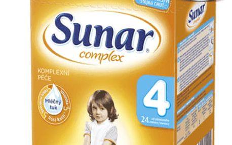 6x SUNAR Complex 4 (600 g) – kojenecké mléko