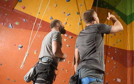 2hod. lezecký kurz pro začátečníky i pokročilé