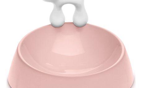 Koziol Miska pro kočku Miaou, růžová