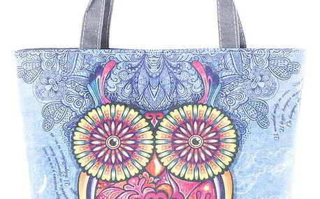 Fashion Icon Dámská taška Sova modrá