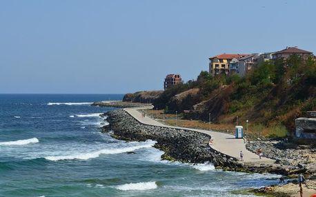 Bulharsko - Primorsko na 8 dní, polopenze nebo snídaně s dopravou letecky z Brna nebo Prahy 50 m od pláže
