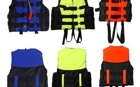 Profesionální záchranná vesta pro vodní sporty