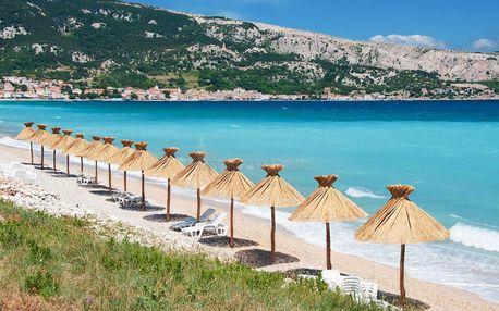 Jednodenní koupání v Chorvatsku | Zájezd na ostrov Krk | Min. 10 hodin u moře | Nástupní místa v celé ČR
