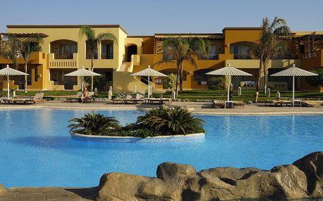 Egypt - Hurghada na 8 dní, all inclusive s dopravou letecky z Prahy 350 m od pláže