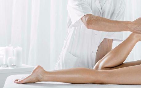 60minutová manuální lymfatická drenáž nohou