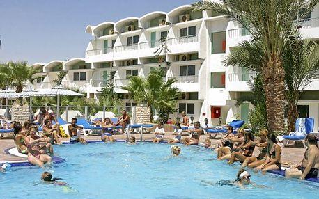 Egypt - Hurghada na 8 dní, all inclusive s dopravou letecky z Prahy 200 m od pláže