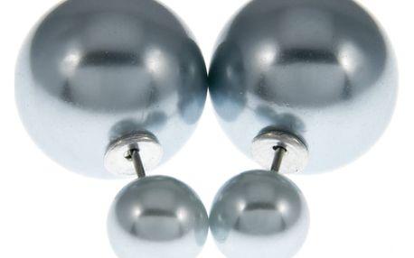 Fashion Icon Náušnice kuličky perleťové oboustranné
