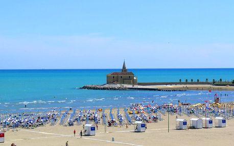8–10denní Itálie, Caorle | Dítě zdarma | Hotel Minerva s polopenzí | Pláž 200 m od hotelu