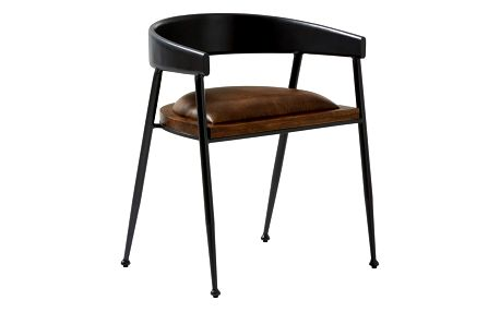 Kožená jídelní židle Fuhrhome Sydney Patina